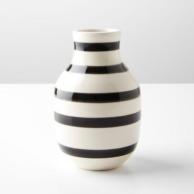 Omaggio Black Small Vase