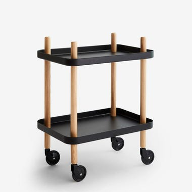 Block Cart Black