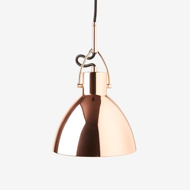 Gage Copper Pendant Lamp & Canopy