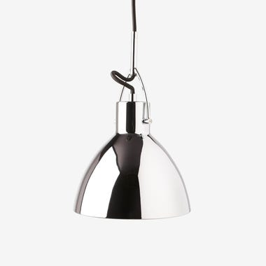 Gage Chrome Pendant Lamp & Canopy