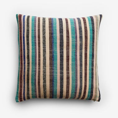 "Nigel Stripe Throw Pillow Cover 17"" x 17"""