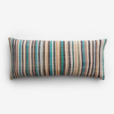 "Nigel Stripe Throw Pillow Cover 12"" x 28"""