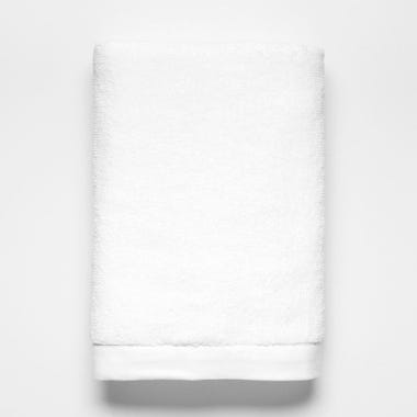 Logan White Bath Towel