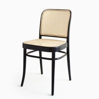 811 Black Cane Chair