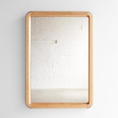 Edgewood Made Wall Mirror Large Maple