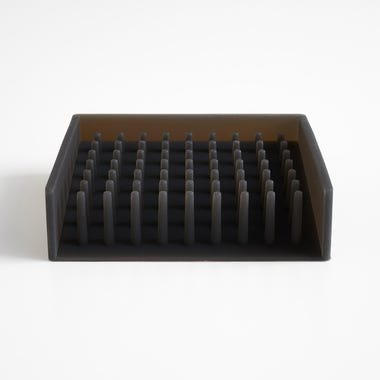 Float Black Soap Dish