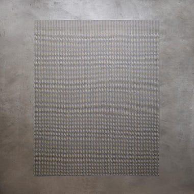 Stitch Gray Flatweave Rug 8' x 10'