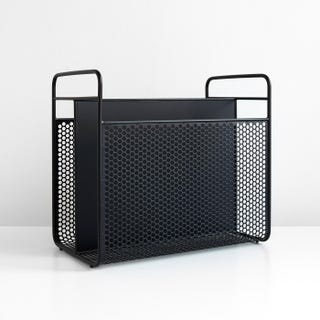Analog Black Magazine Rack