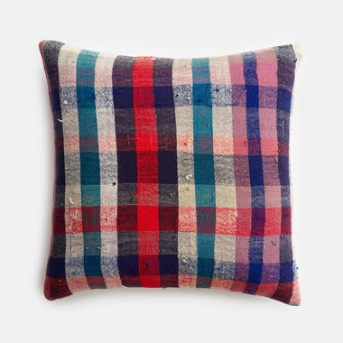 "Dawson Plaid Pillow Cover 17"" x 17"""