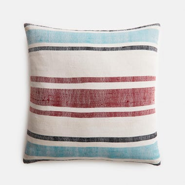 "Delmar Stripe Pillow Cover 17"" x 17"""