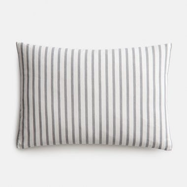 "Sailor Slate Throw Pillow Cover 12"" x 18"""