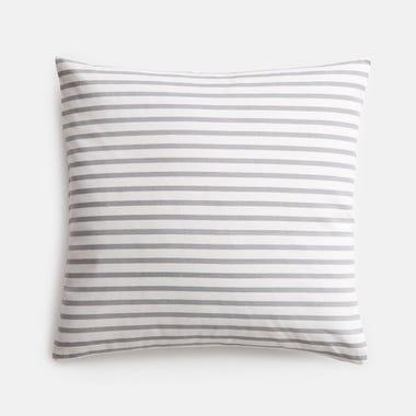 "Sailor Slate Throw Pillow Cover 17"" x 17"""
