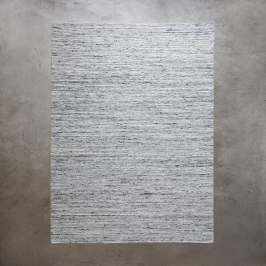 "Plat Light Gray Rug 8'3"" x 11'6"""