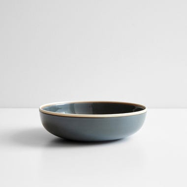 Meridian Gray Bowl 8.75""
