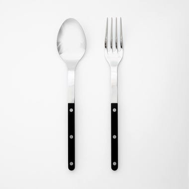 Bistro Black 2pc Serve Set