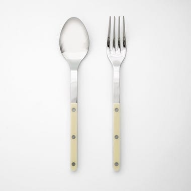 Bistro Ivory 2pc Serve Set