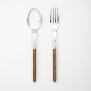 Bistro Teak 2pc Serve Set