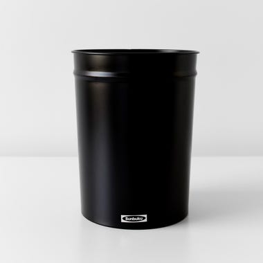 Bunbuku Black Small Waste Can