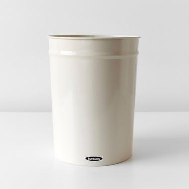 Bunbuku Ivory Small Waste Can