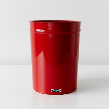 Bunbuku Red Small Waste Can