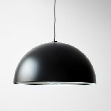 Dome Black Large Pendant Lamp