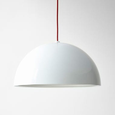 Dome White Large Pendant Lamp