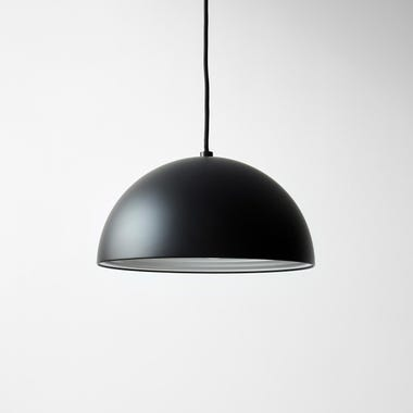 Dome Black Medium Pendant Lamp