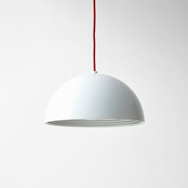 Dome White Medium Pendant Lamp