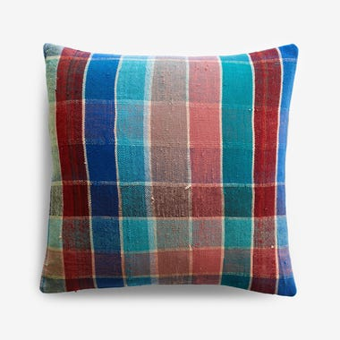 "Talman Plaid Throw Pillow Cover 17"" x 17"" #1"