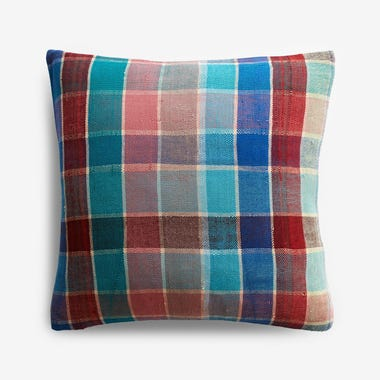 "Talman Plaid Throw Pillow Cover 17"" x 17"" #4"