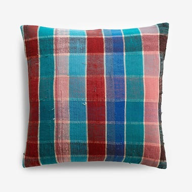 "Talman Plaid Throw Pillow Cover 17"" x 17"" #6"