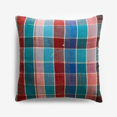 "Talman Plaid Throw Pillow Cover 17"" x 17"" #8"