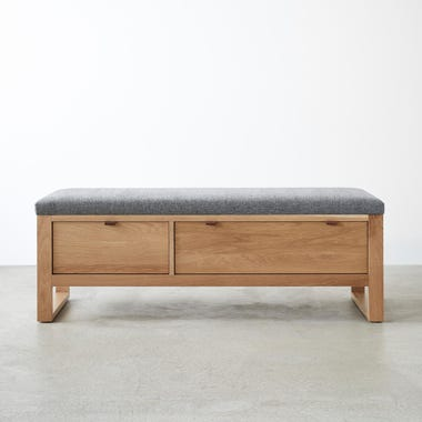 Fulton Charcoal Storage Bench