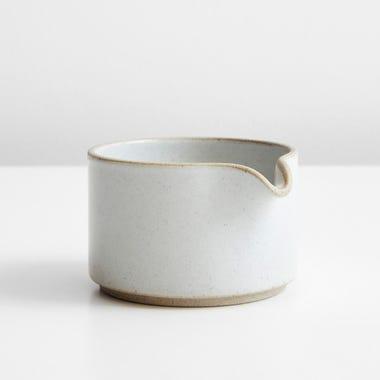 Hasami Gloss Gray Creamer