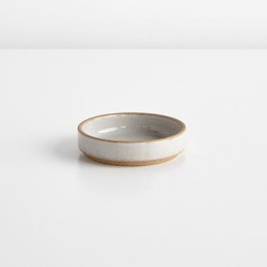 Hasami Gloss Gray Small Saucer
