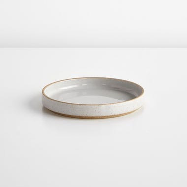 Hasami Gloss Gray Large Saucer