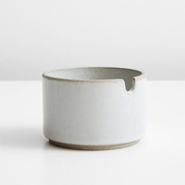 Hasami Gloss Gray Sugar Bowl 3.5""