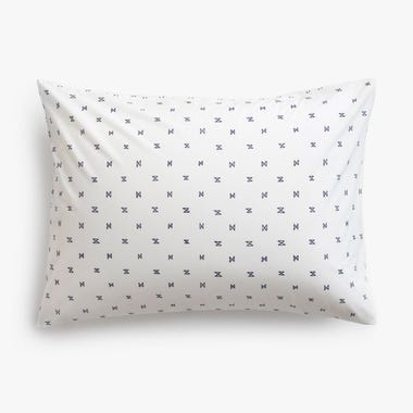 Sashi Geo Navy Pillowcase King Set of 2