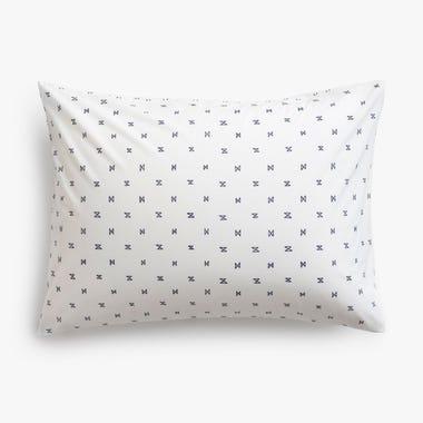 Sashi Geo Navy Pillowcase Standard Set of 2