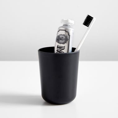 Bano Black Toothbrush Holder