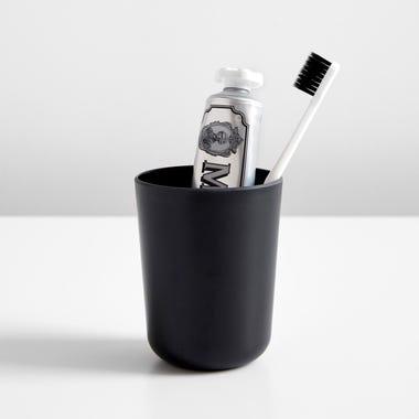 Bano Black Toothbrush Holder
