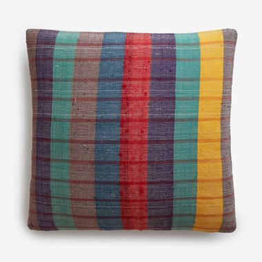 "Haddon Plaid Throw Pillow Cover 20"" x 20"""