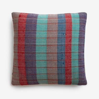 "Haddon Plaid Throw Pillow Cover 20"" x 20"" #10"