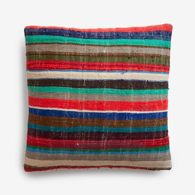 "Estes Stripe Throw Pillow Cover 20"" x 20"""