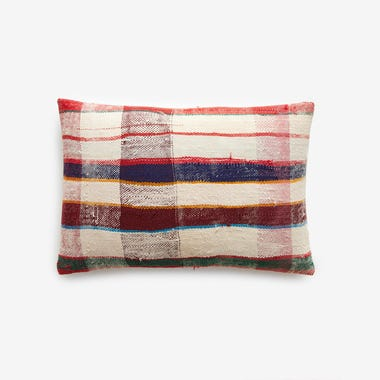 "Hobart Plaid Throw Pillow Cover 12"" x 18"" #8"