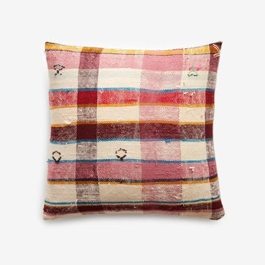 "Hobart Plaid Throw Pillow Cover 17"" x 17"" #8"