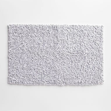 Foster White Bath Mat