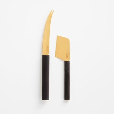 Parker Gold Cheese Knife Set of 2