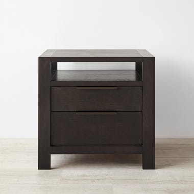 Wolcott Pewter Nightstand