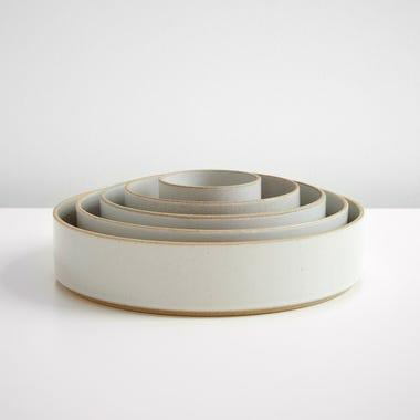 Hasami Gloss Gray Bowl Set of 5